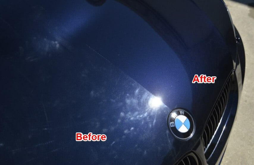 best wax for black cars with scratches