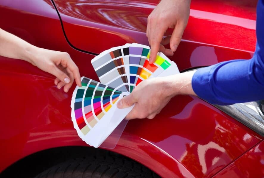 how much does it cost to change the color of your car